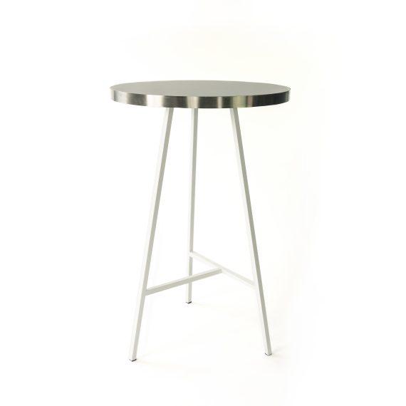 Dry Bar – Concrete White w/ Silver Edge