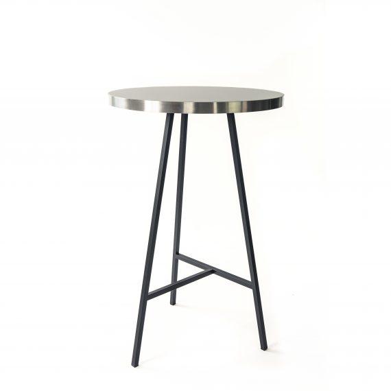 Dry Bar – Concrete Black w/ Silver Edge