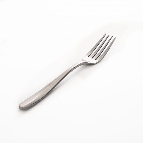 Entree Fork – Modern Silver