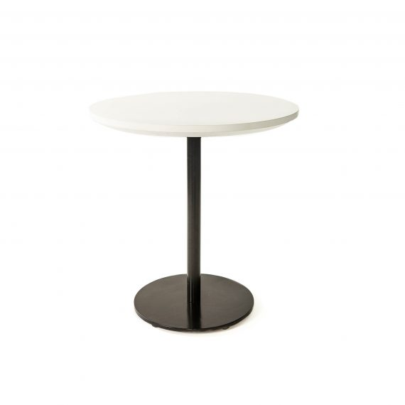 Cafe Table – Black Pedestal