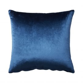 Throw Cushion- Velvet Blue