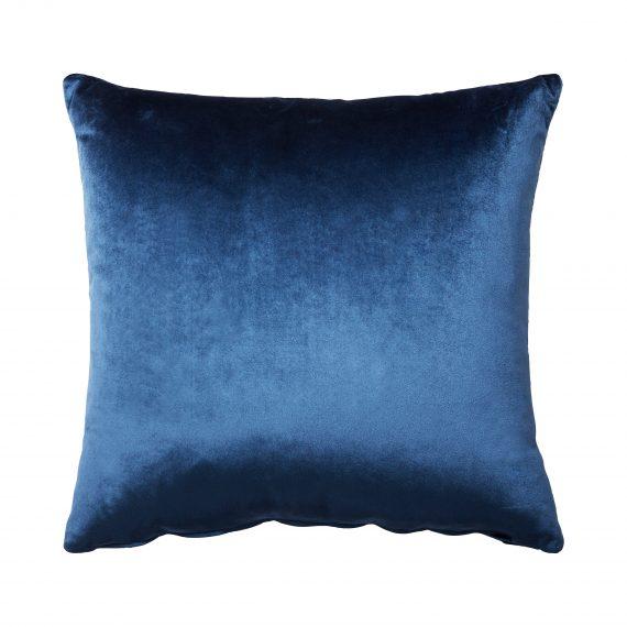 Throw Cushion- Velvet Blue