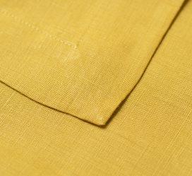 Serviette- Linen Mustard