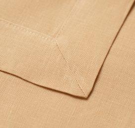 Premium Linen Serviette – Peach
