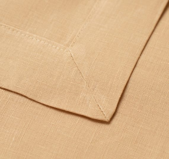 Serviette- Linen Peach