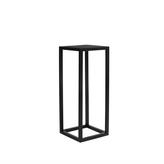Plinth –  Metal Black 75cm