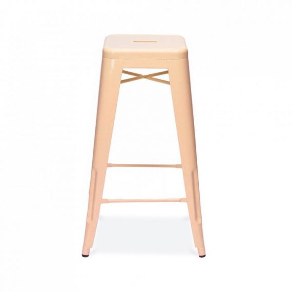 Bar Stool – Tolix Peach