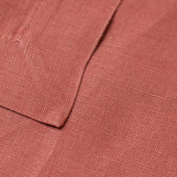 Serviette – Linen Rust