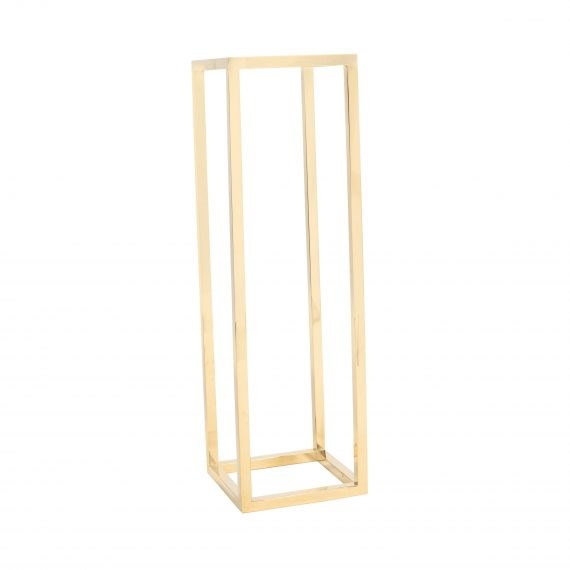 Plinth –  Metal Gold 75cm