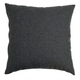 Throw Cushion- Charcoal Large