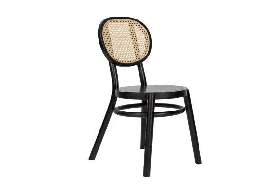 Chair – Rattan Black