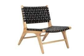Chair – Webb Low Chair Black