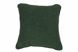 Throw Cushion- Dark Green