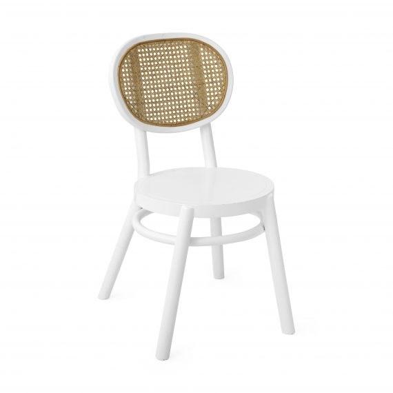 Chair – Rattan White