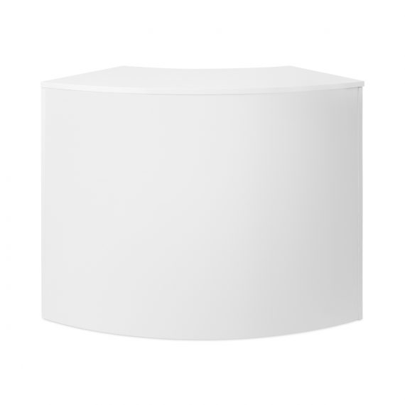Gloss Bar Curved – White