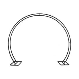 Arbour Round Arch – Black