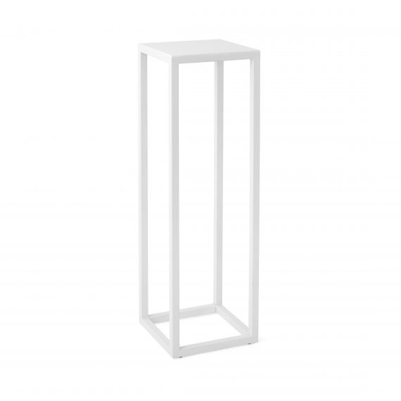 Plinth –  Metal White 100cm