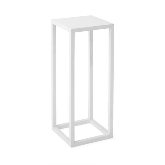 Plinth –  Metal White 75cm