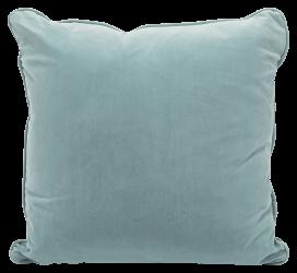 Throw Cushion – Powder Blue Velvet