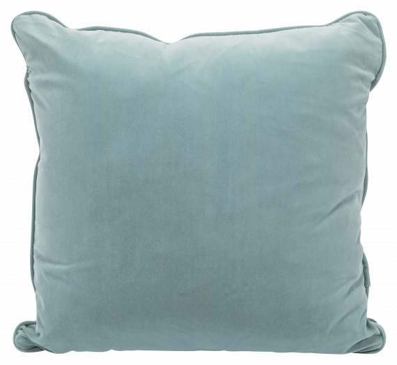 Throw Cushion – Powder Blue Velvet