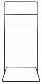 Square Base Hanging Frame - Black