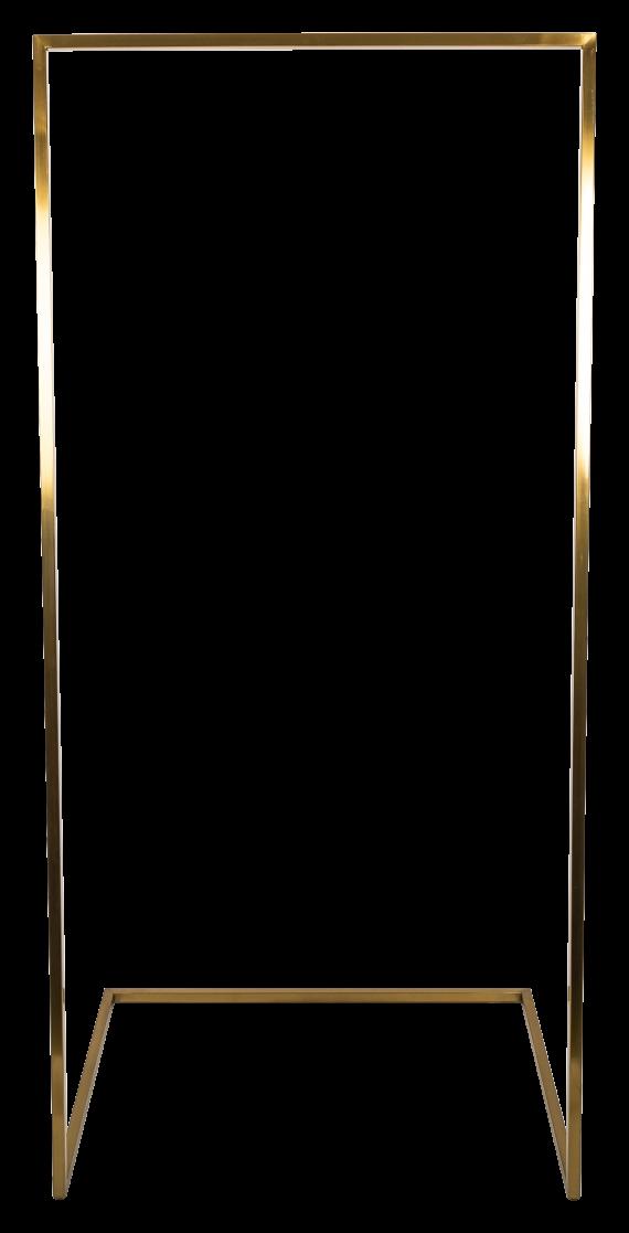 U Base Hanging Frame – Brass