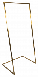 U Base Hanging Frame – Brass