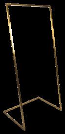 U Base Hanging Frame - Brass