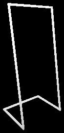 U Base Hanging Frame - White