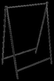 A-Frame Hanging Frame – Black