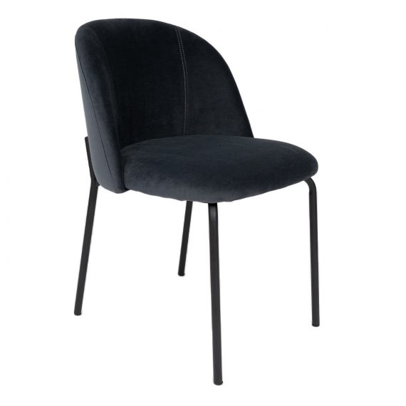Dining Chair Upholstered – Charcoal