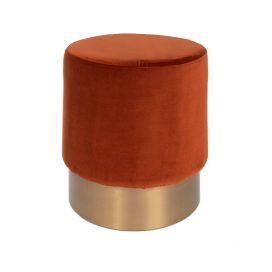 Brass Ottoman – Round Copper