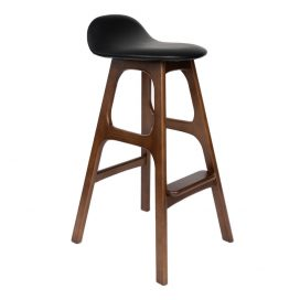 Mid Century – Leather Stool