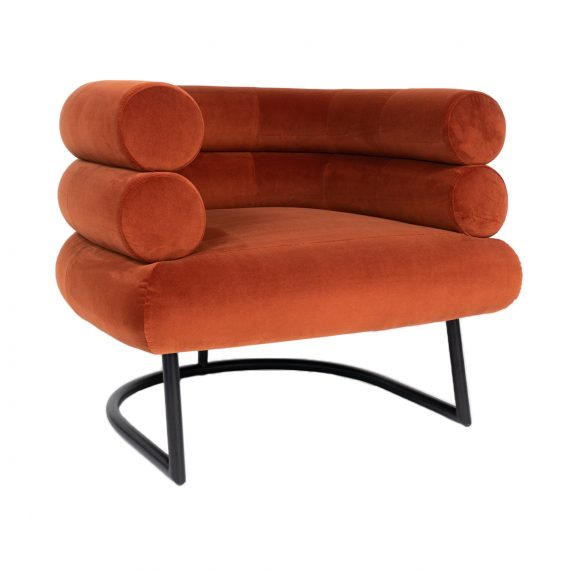 Mid Century Occasional Chair – Copper