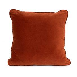 Throw Cushion – Copper Velvet