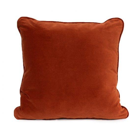 Square Velvet Cushion – Copper