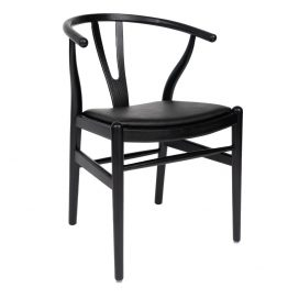 Mid Century – Wishbone Black