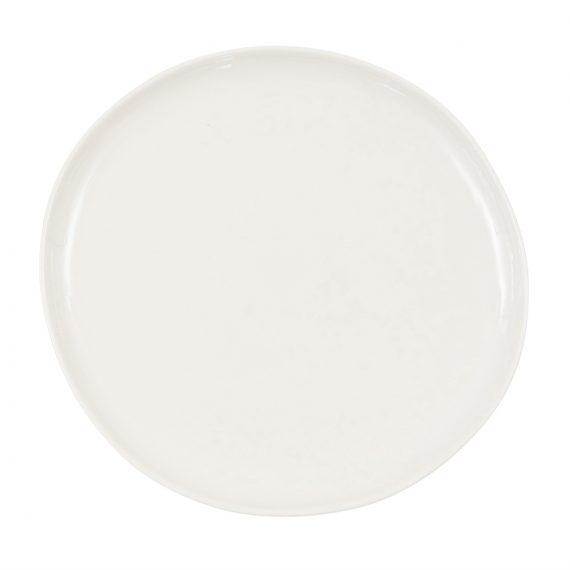 Crema Dinner Plate – Gloss Cream (Pre-order)