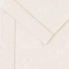 Premium Linen Serviette – Belgian Hemstitch