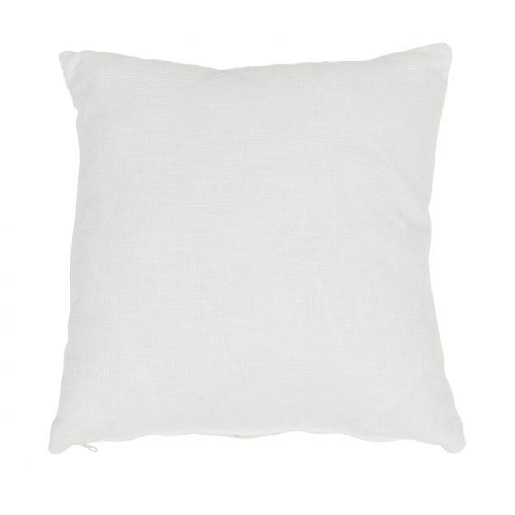 Large Square Cushion – White