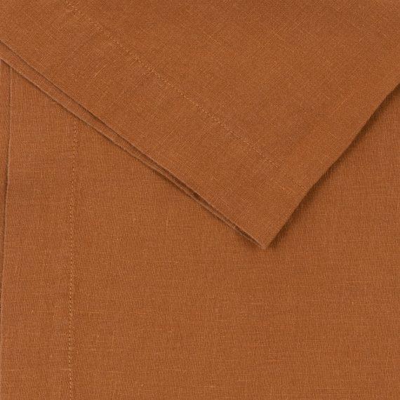 Premium Linen Serviette – Terracotta
