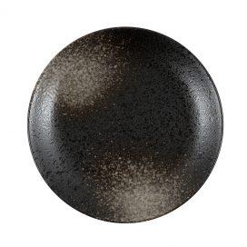 Speckled Entrée Plate – Black (Pre-order)