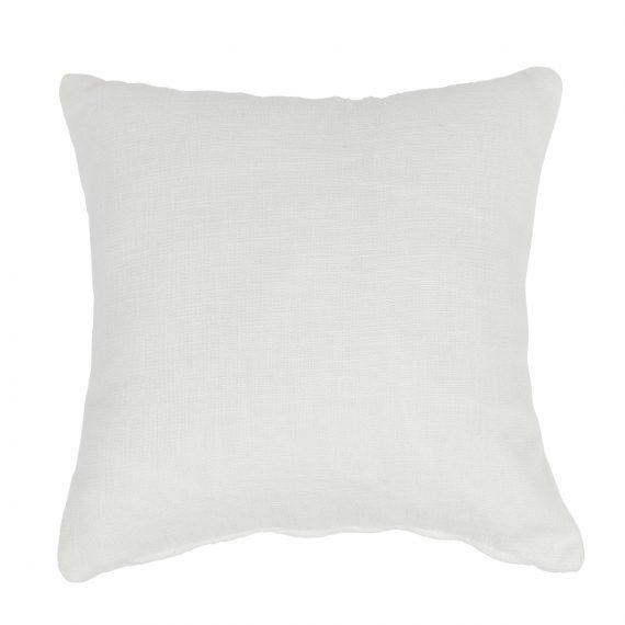 Small Square Cushion – White