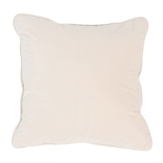 Square Velvet Cushion – Champagne