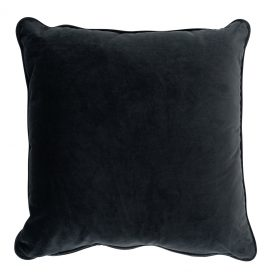 Small Square Cushion – Charcoal