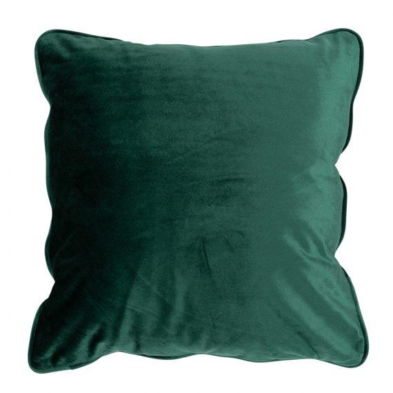 Square Velvet Cushion – Emerald